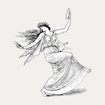 Dancing nymph