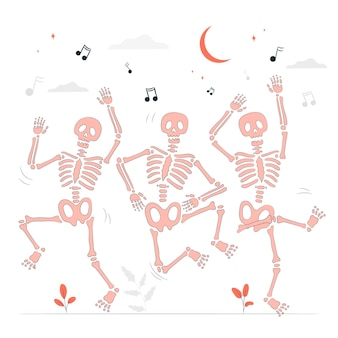 踊るスケルトンの概念図