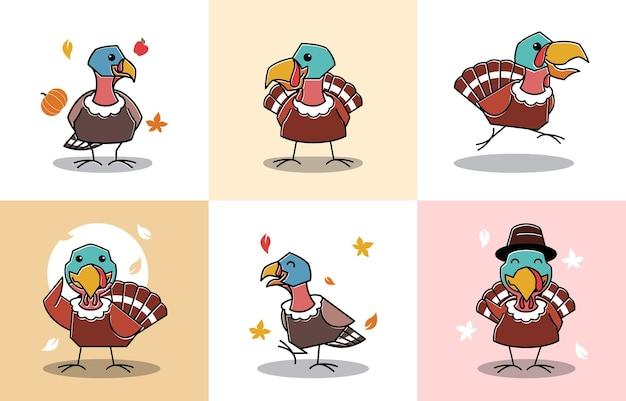 Танцы турция птица женский осень осень благодарения персонаж мультяшный