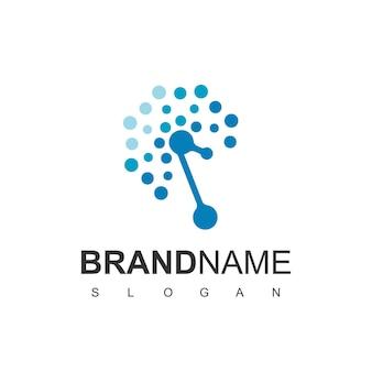 Dandelion of technology logo