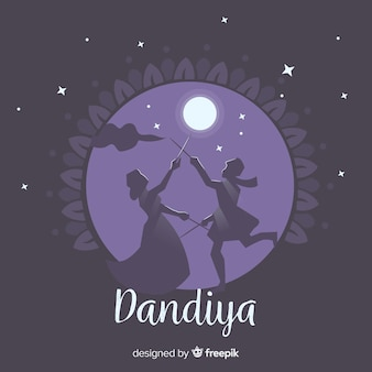 Dandiya background