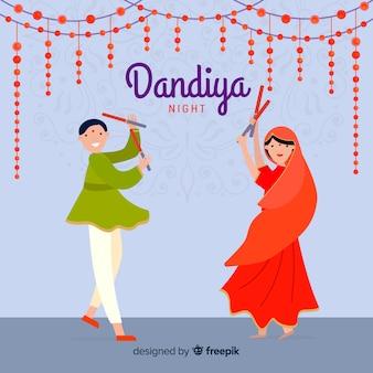 Dandiya dancers