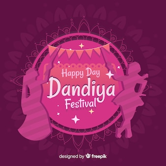 Dandiya festival background