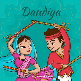 Dandiya night background