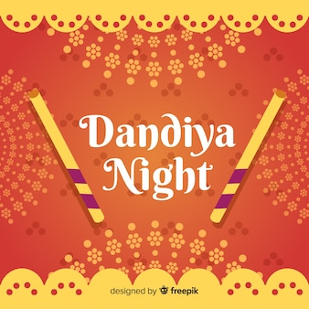Dandiya night banner