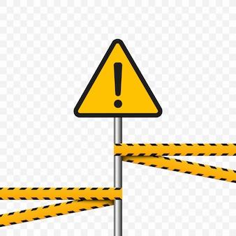 Символ опасности. треугольник на прозрачном фоне. предупреждающий знак высокое напряжение, опасность.
