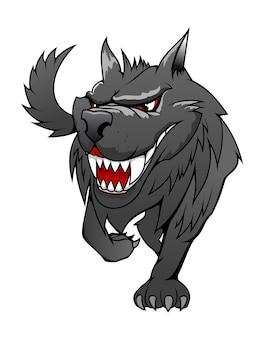 Danger wolf