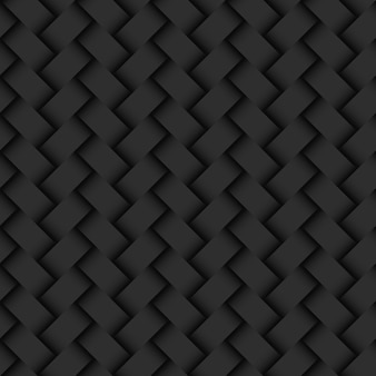Dark abstract background wicker texture seamless pattern