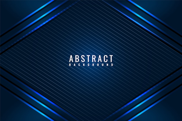Dark abstract background with dark blue overlap layers.
