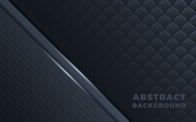 Dark abstract background with gray overlap layers