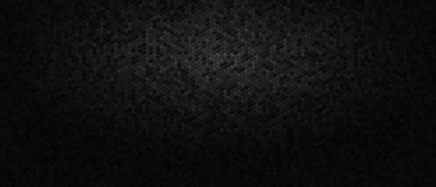 Dark abstract background with honeycomb hexagons.