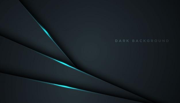 오버랩 레이어와 어두운 추상 배경