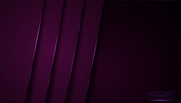 Dark abstract background with purple overlay layers.