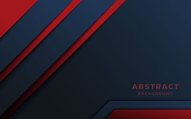 Dark abstract background with red overlap layers.