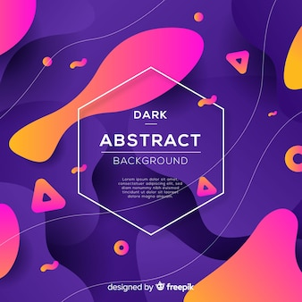 Темный абстрактный фон