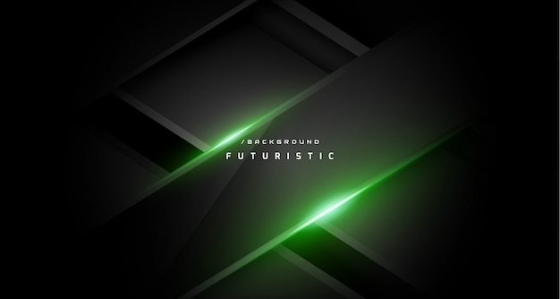 Dark abstract green gaming background