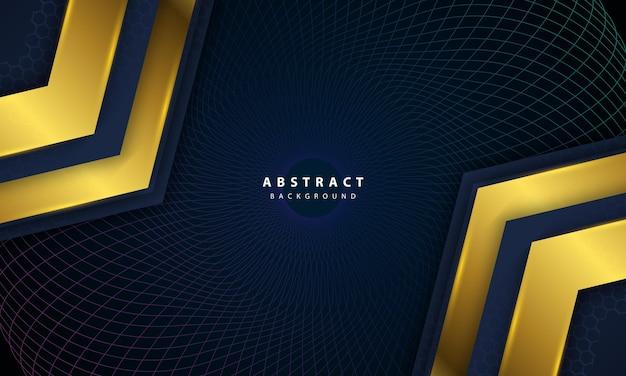 Темные абстрактные векторные иллюстрации роскошного фона