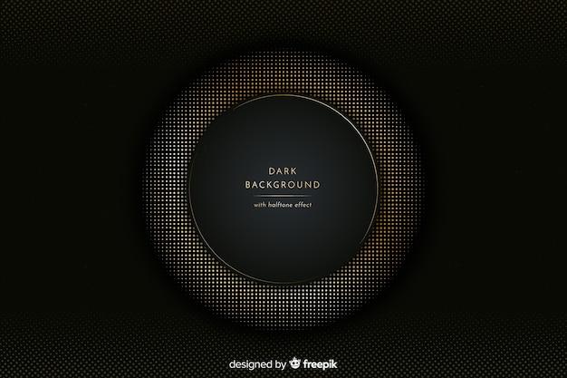 Темно-золотой полутоновый фон