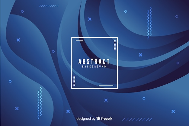 Dark background of abstract shapes