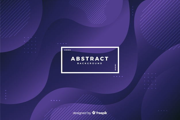 Dark background with abstract shapes