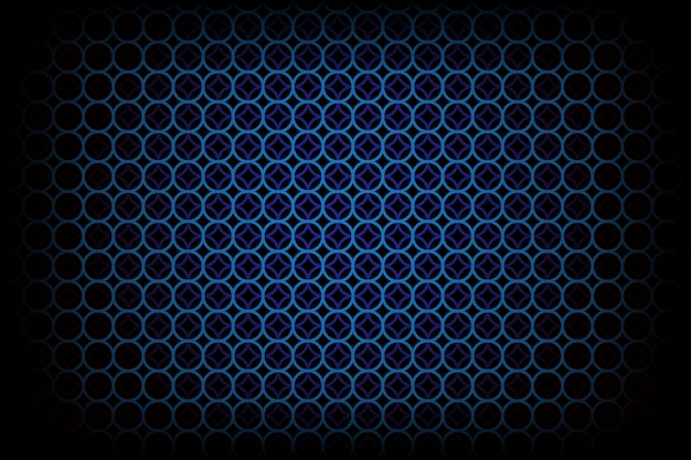 Dark background with blue circle pattern style
