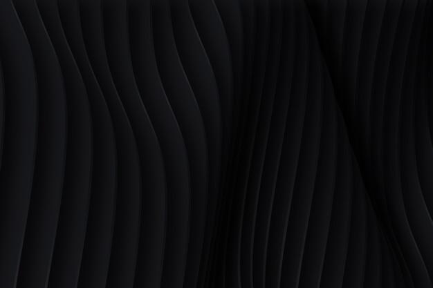 Темный фон с динамическими формами