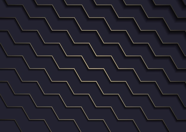 Dark background with layered gold lines