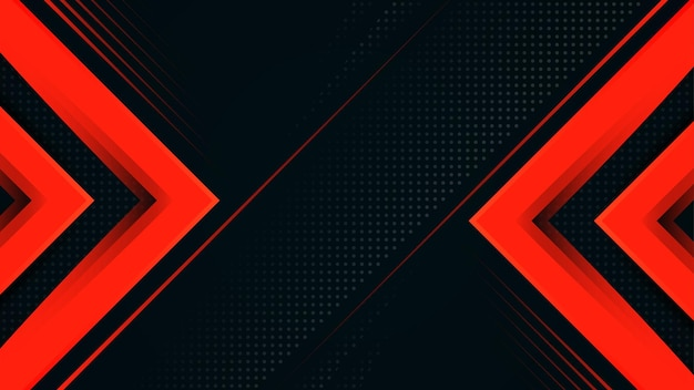 ダークブルーと赤の豪華な斜めの線モダンなデザインベクトル背景
