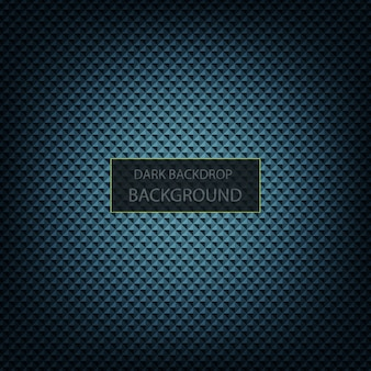 Dark blue and black metal background