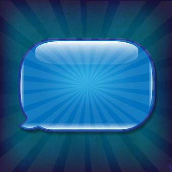 Темно-синий гранж фоновой текстуры с речи пузырь