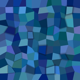Sfondo mosaico blu scuro