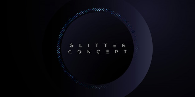 Темно-синий премиум минималистский фон с роскошными золотыми геометрическими элементами и полутоновым рисунком. блестящий фон для плаката, пригласительного билета, баннера, флаера, обложки и т. д.