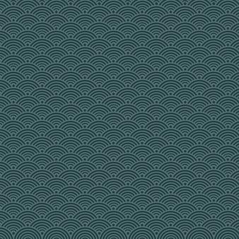 ダークブルースケールのシームレスパターン