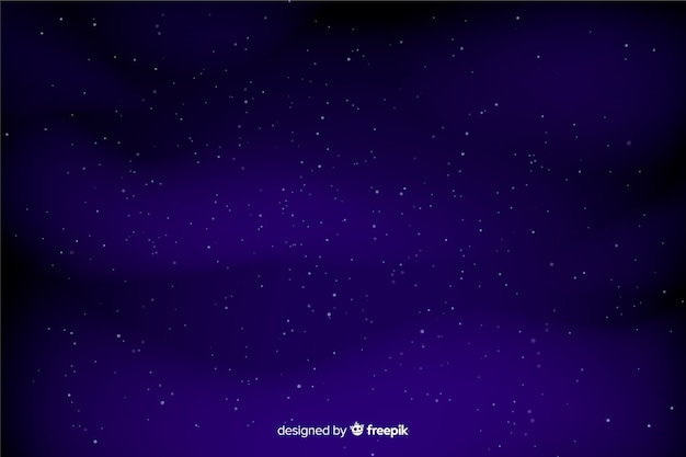 Dark blue sky with stars background
