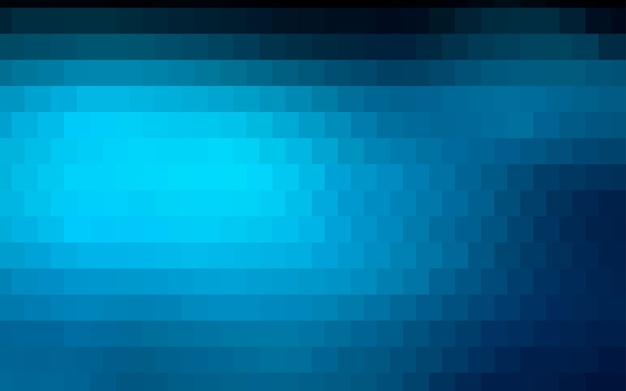 Dark blue vector low poly background