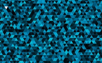Dark BLUE vector low poly template