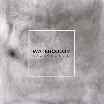 Темно коричневый абстрактный фон акварелью, рука краска.