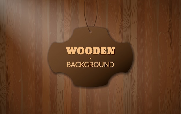 Dark brown wooden texture pattern with copy space. wood table or wall simple easily editable background
