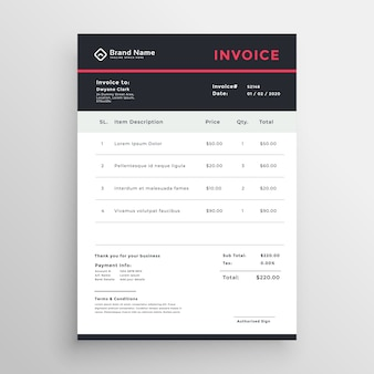 Invoice Vectors Photos And Psd Files Free Download