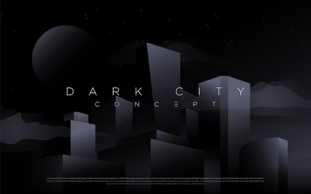 Темный город фон