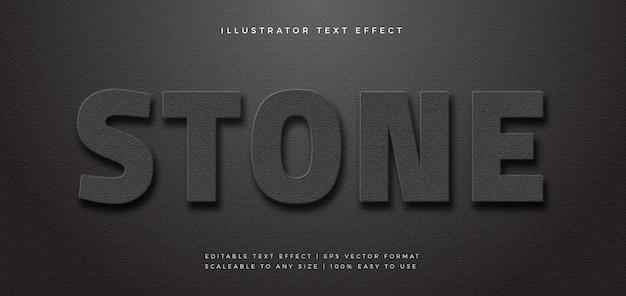 Эффект шрифта стиля текста темной текстуры бетона