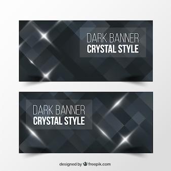 Dark crystal banners