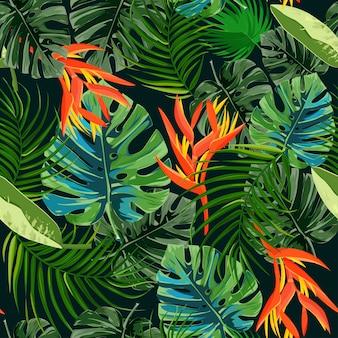 Темные экзотические растения