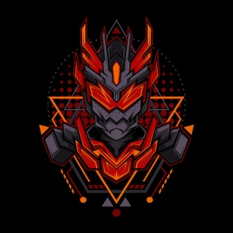 Dark fire ranger geometry style