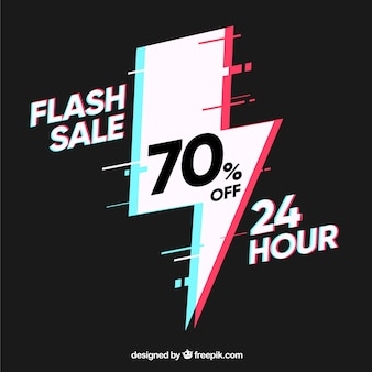 Dark flash sale background