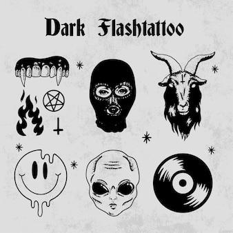 Dark flashtattoo