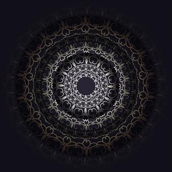 暗い花の背景