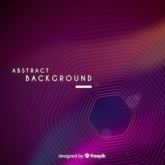 Dark geometric abstract background