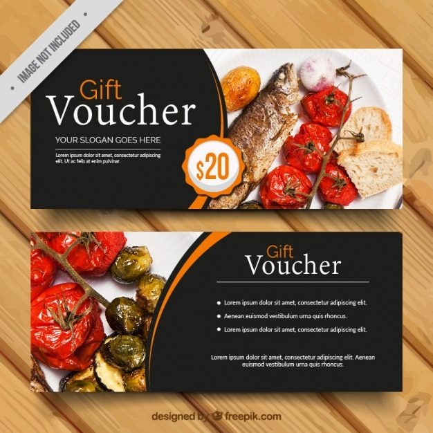 meal voucher template free download
