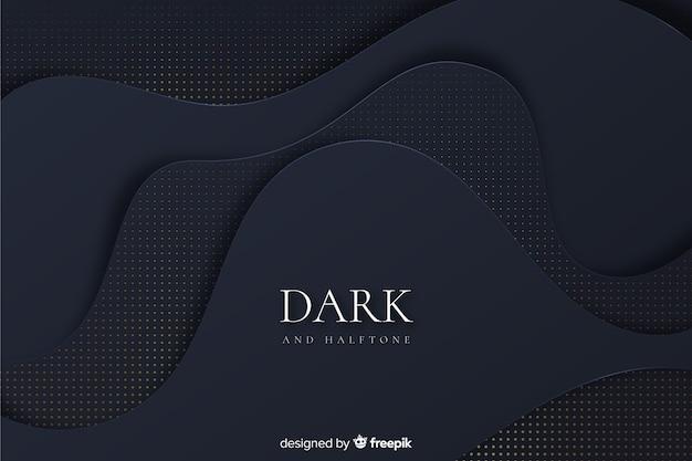 Sfondo scuro e dorato